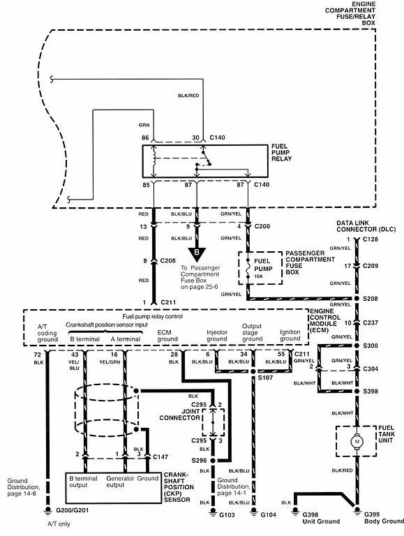 2002 Kia Sportage Fuel Pump Wiring Diagram