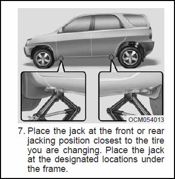 Sportage Jacking/Lifting Points - Kia Forum