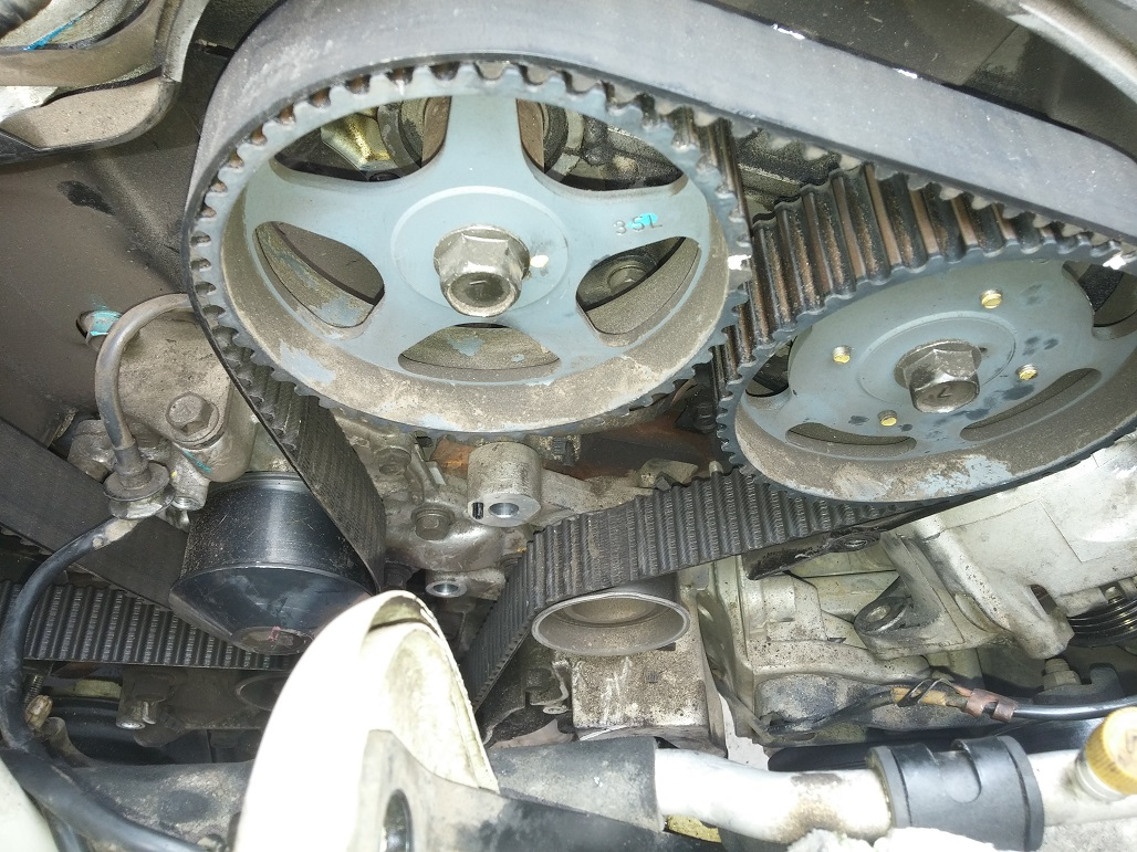 Small Old Jeep >> 05 Amanti Timing and Belt Issue - Kia Forum