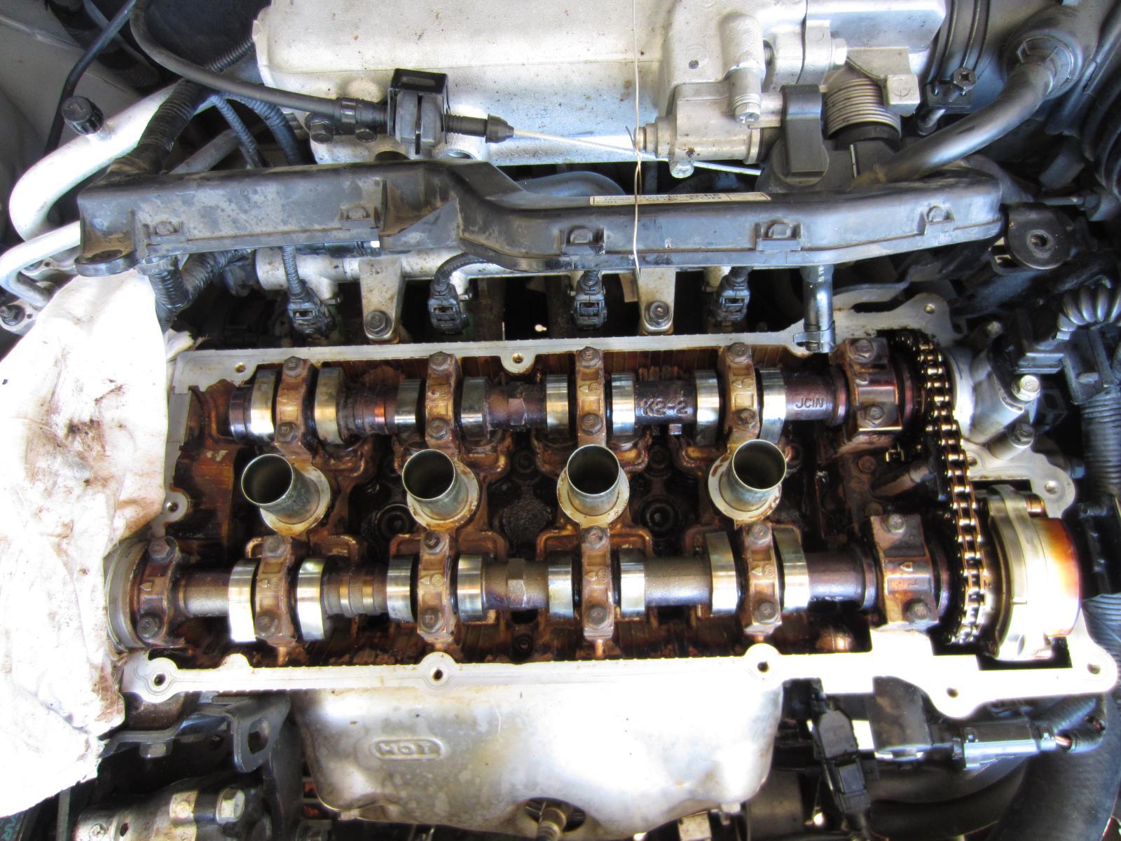 Low Oil Pressure Light  Engine Sludge