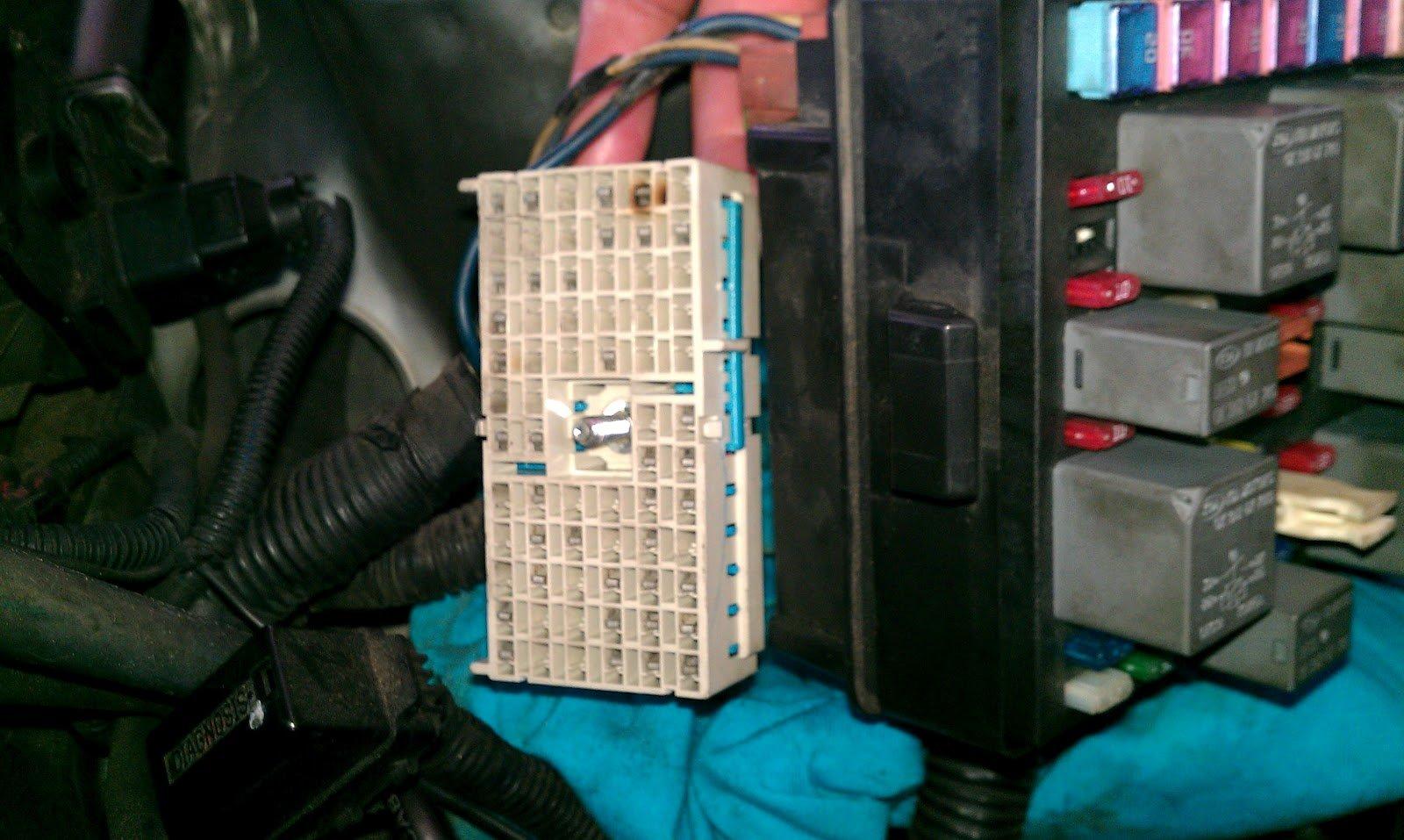 kia sephia fuse box | Kia Forum on