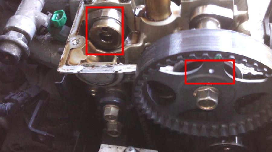 Camshaft chain position ? | Kia Forum