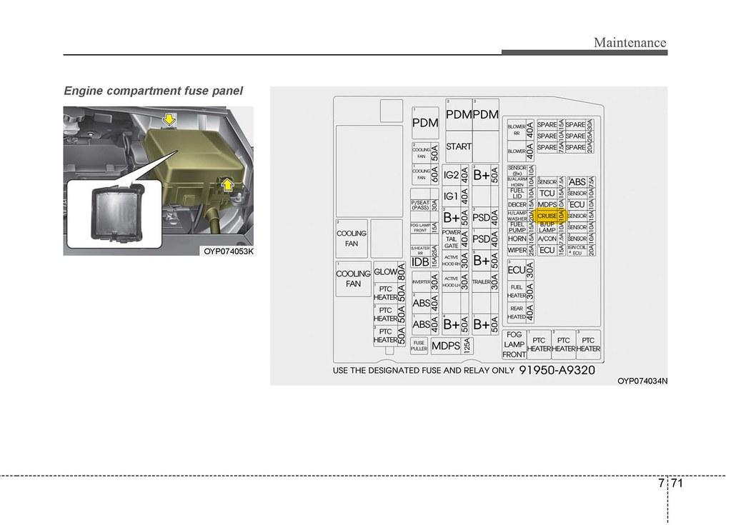 Convert positioning lights to DRL | Kia Forum on