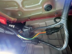 How-to tips: Install Curt Trailer Hitch and Wiring Harness ... on electrical harness, maxi-seal harness, dog harness, suspension harness, oxygen sensor extension harness, safety harness, fall protection harness, pony harness, engine harness, alpine stereo harness, battery harness, obd0 to obd1 conversion harness, radio harness, pet harness, amp bypass harness, nakamichi harness, cable harness,