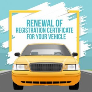 Renewal of registration certificate for your vehicle 800x445